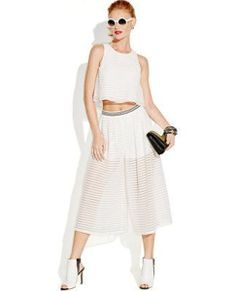 Lucille Mae: You get the best of both worlds with this hot skirt by Bar III