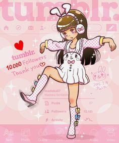 Madoka's Art Blog: Tumblr. 10.000 Followers