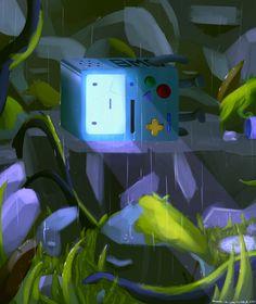 Finding BMO by MasterCheefs on DeviantArt Adventure Time Cartoon, Adventure Time Art, Cartoon Tv, Cartoon Shows, Abenteuerzeit Mit Finn Und Jake, Pendleton Ward, Land Of Ooo, Adventure Time Wallpaper, Jake The Dogs