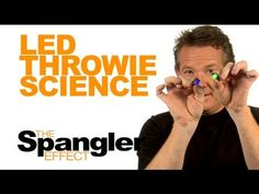 Oh Steve Spangler how i love thee!!!!! The Spangler Effect - LED Throwie Science Season 01 Episode 25