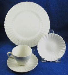 *I have 5 dinner plates of J. G. Meakin England Dinnerware in Classic White. & Chris Madden stoneware from J C Penneyu0027s | Dinnerware | Pinterest ...