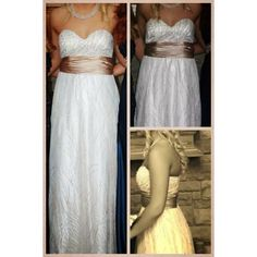 David's Bridal prom dress! Only worn once for my prom! In great condition no tears or stains! Dresses Prom