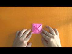 Como hacer una flor de loto en origami - Tutorial