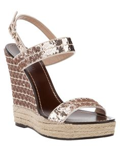 VALENTINO wedge sandal
