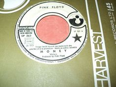 """PINK FLOYD / MONEY - ANY COLOUR YOU LIKE (1973) rare promo french press 7"""" !!!!!"""