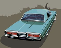 1964 Ford Thunderbird by ~CRWPitman on deviantART