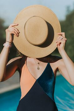 Photo collection by bylyloutte Dee Dee, Ootd, Lingerie, Paris, Collection, Summer, Fashion, Boater, Swimsuit