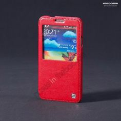 Hoco Retro Series Luxury Crystal Leather Flip Case For Samsung Galaxy Note 3 III N9000 - Red US$16.99