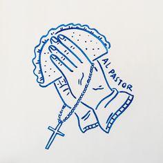 Random doodles in between meetings... can't stop won't stop. by mrchillustrator
