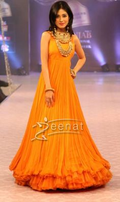 Amrita Rao in Designer Frock.  For more visit Zeenat Style