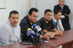 """En rueda de prensa realizada este martes, el dirigente estatal de la CNTE, Víctor Manuel Zavala, dijo que """"desde temprana hora"""" del martes 7 de noviembre se congregarán """"miles"""" de ..."""