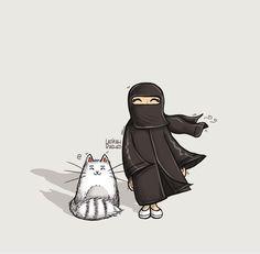 Image about smile in Islam by Fâtıma Nur on We Heart It Cute Little Baby Girl, Cute Little Kittens, Hijab Drawing, Islamic Cartoon, Cute Cartoon Drawings, Anime Muslim, Hijab Cartoon, Muslim Women Fashion, Islamic Girl