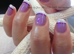 Gel manicure by Jess at naturally nails in RI! (401)226-5401...text for an appt.!!!