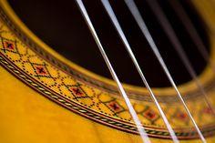 classical guitar sound hole