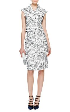 Re-Embroidered Lace Dress by Thom Browne - Moda Operandi