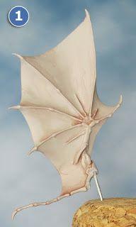 Sproket's Small World: Dark Eldar Diorama – Scourge Wings Step-by-step