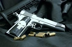Kimber 1911. The Punisher variety