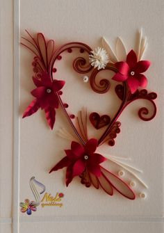 *WITH LOVE....neli: Quilling cards