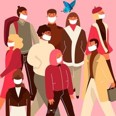 Download Illustration With People Wearing Medical Mask for free Illustration with people wearing medical mask. Download for free at freepik.com! #Freepik #freevector #people #medical #health #mask #coronavirus<br> Discover thousands of free-copyright vectors on Freepik Free Vector Illustration, Free Illustrations, Infographic Illustrations, Nurse Art, Protest Posters, Graphic Design Templates, Stop Motion, Rock Art, Portrait