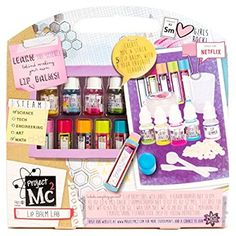 Project Create Your Own Lip Balm Lab Kit Learn Science Hot Toy Fast Shipping Science Toys, Stem Science, Learn Science, Project Mc2 Toys, Project Mc Square, Create Your Own, Create Yourself, Lip Balm Containers, Netflix