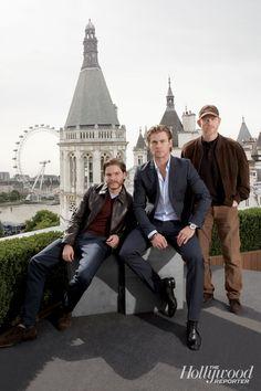 Rush - The Hollywood Reporter - Ron Howard, Chris Hemsworth and Daniel ...