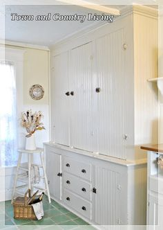 Great built in kitchen cabinet