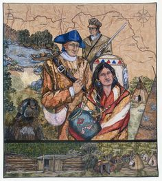 Native American Quilts at the International Quilt Shows - Travel Photos by Galen R Frysinger, Sheboygan, Wisconsin