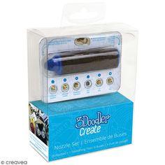 Compra nuestros productos a precios mini Kit de boquillas 2.0 3Doodler - 6 boquillas - Entrega rápida, gratuita a partir de 89 € !