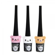 Cute Cartoon Bear 5G Liquid Eyeliner Black,Wholesale Brushes Eyeshadow Makeup - Wholesale Cosmetics Direct   $5.55 at wholesalecosmeticsdirect.com