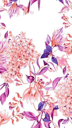 ideas for flowers purple wallpaper floral design Cute Backgrounds, Phone Backgrounds, Cute Wallpapers, Wallpaper Backgrounds, Wallpaper Desktop, Floral Wallpapers, Summer Backgrounds, Iphone Wallpapers, Screen Wallpaper