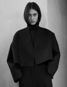 Minimalist Tailoring with oversized silhouette; minimal fashion // Celine Pre-Fall 2013