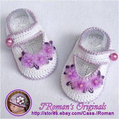many free crochet baby bootties and sandals, crochet pattern and photo tutorials | make handmade, crochet, craft
