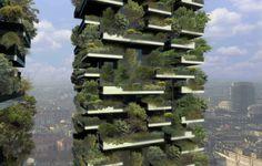 """""""em Milão""""  Em Construção: O Primeiro Bosque Vertical / Boeri Studio"""