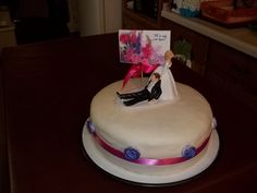 After the wedding cake