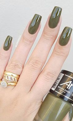 50 Beautiful Nail Design Ideas You Should Try Today - Millions Grace Diy Nails, Cute Nails, Pretty Nails, Beautiful Nail Designs, Cool Nail Designs, Nail Paint Shades, Nagel Gel, Green Nails, Perfect Nails