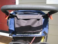 I needed a small bag to attach to my jogging stroller that would hold my keys, cell phone, and sunglasses (for one adult and two kids). My stroller, a. Bob Stroller, Stroller Bag, Jogging Stroller, Running Belt, Funny Socks, Fitness Gifts, Sport Socks, Happy Socks, Learn To Sew