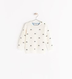 Image 1 of SWEATER WITH BIKE EMBROIDERY from Zara
