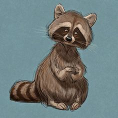 """Raccoons"" by Aaron Blaise*  • Blog/Website 