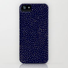 Dotted Gold & Midnight iPhone & iPod Case