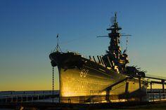 USS Alabama.