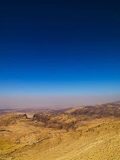 Landscape Aroud Petra, Jordan