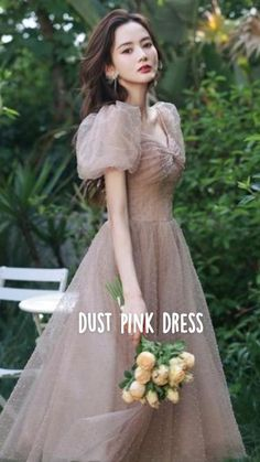 Trendy Outfits, Fashion Outfits, Fantasy Dress, Korean Fashion Trends, Tulle, Girly, Graduation Dresses, Gowns, Indian