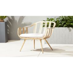 gala gold lounge chair | CB2
