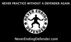 The Never Ending Defender is a Basketball training harness developed to teach you to shoot with a defender in your face and practice dribbling without seeing the ball. Basketball Shooting
