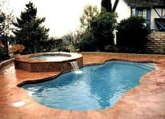 pictures of small inground swimming pools - Google Search
