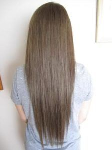 cool dark blonde hair, love that it's so close to my natural color