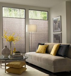 bali diamondcell storm 38inch double cell cellular shades by bali soft to the touch semiopaque storm fabric has a print