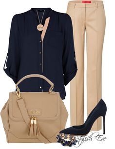 moda, cloth, fashion style, untitl 1021, navi, beig, navy, work outfits, office outfits
