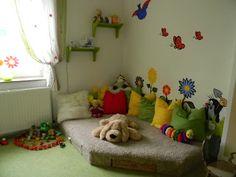 Die Welt mit Kinderaugen sehen... und los geht´s... : Maries Reich (Das Kinderzimmerprojekt)