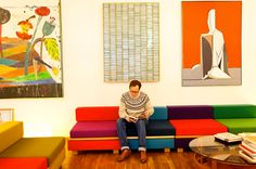 Sofa-couleur